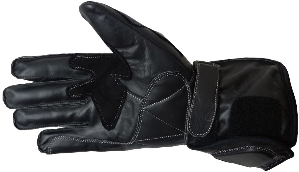 Bangla Motorradhandschuhe Motorrad Handschuhe Leder schwarz XXS-XXL