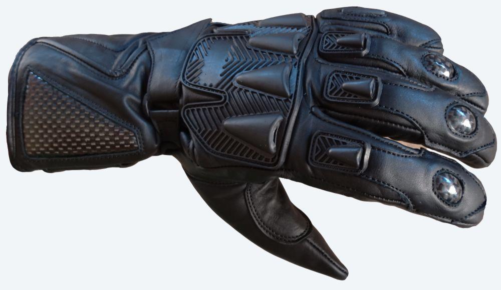 Motorradhandschuhe Leder  Motorrad Handschuhe Kevlar Schwarz S M L XL XXL
