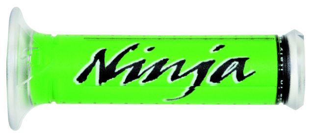 Lenker Griffe Motorrad für Kawasaki Ninja grün schwarz 600 7500 900 1000