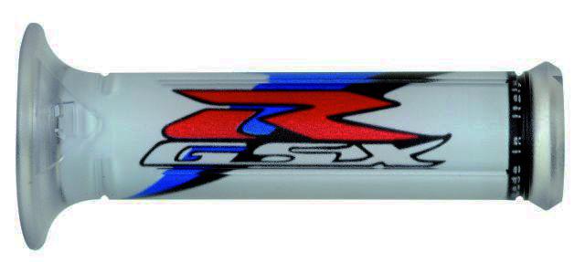 Motorradgriffe Griffe für Suzuki GSX R 600 750 1000 1100 Blau-Grau