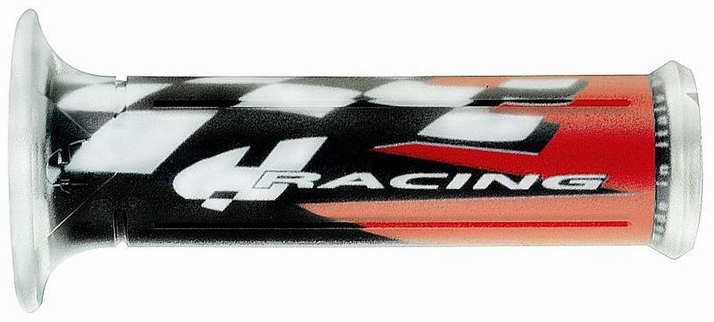 Motorradgriffe Motorrad Griffe für alle Modelle Schwarz rot Lagerräumung