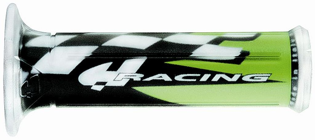Motorradgriffe Motorrad Griffe für alle Modelle Schwarz grün Lagerräumung