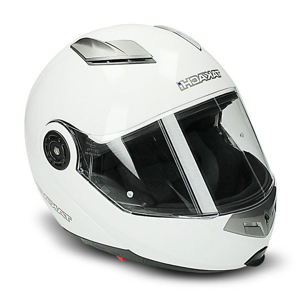 Motorradhelm Motorrad Helm TK 380 DVS weiss Klapphelm XS - XXL