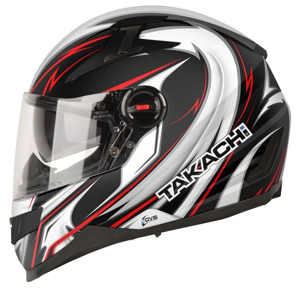 Motorradhelm Motorrad Helm Takachi Integralhelm Sonnenblende TK44 Shuri XS - XXL
