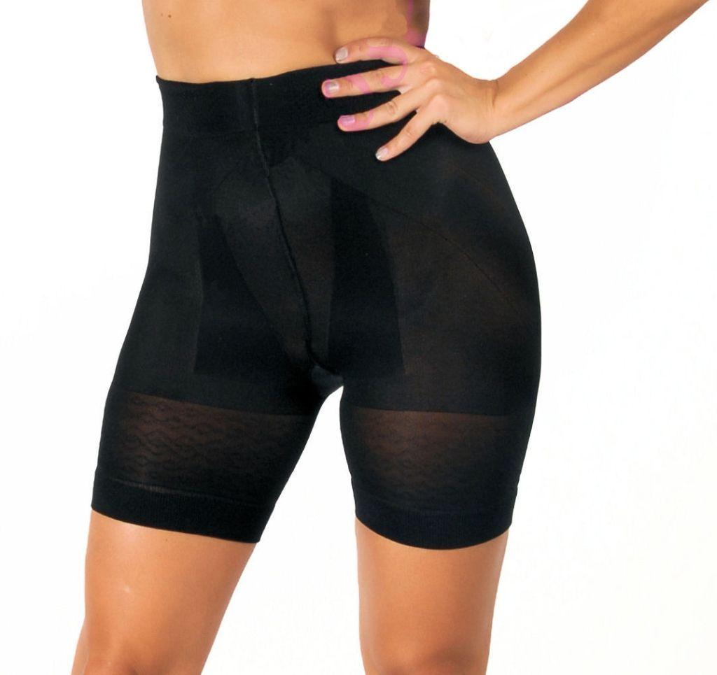 Miederhose Damen Panty Radler OriRose haut weiss schwarz S - XXXL