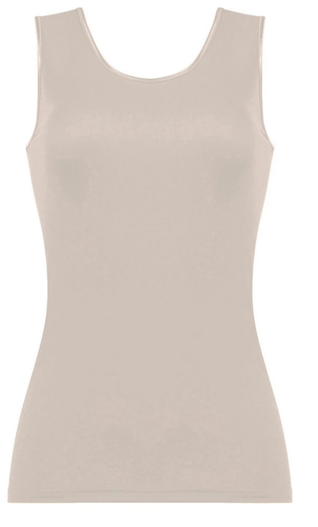 Naturana Unterhemd Achselhemd Tanktop skin schwarz weiss 36 - 50