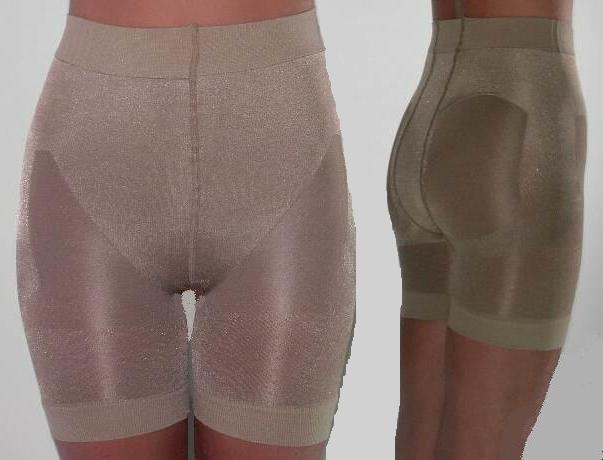 Miederhose Mieder Hose Shapewear Simona kurz Panty Schwarz  oder haut L - XXL