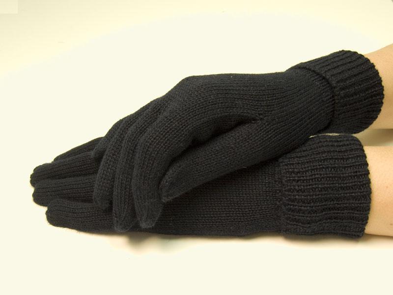 Winter Damen Handschuhe Strickhandschuhe Neu Creme One Size