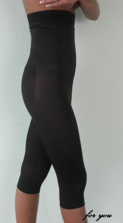Voll Body Mieder Langbein Hose Panty Maxi Schwarz  XXL 48/50