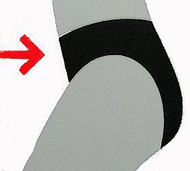 Sassa Taillen Miederhose Shapewear Slip Haut NEU