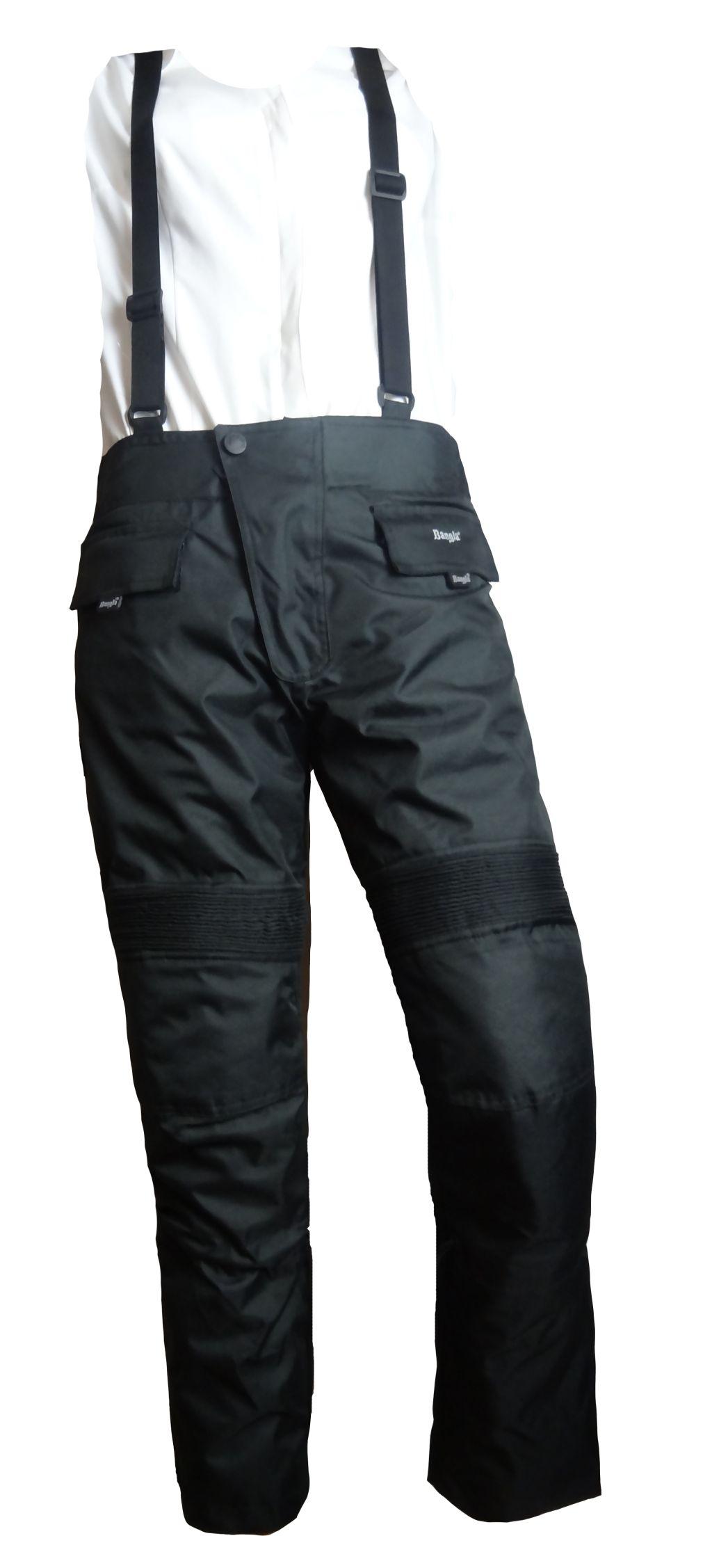 Bangla Kinder Motorrad Hose Motoradhose Textil Schwarz 128 140 152 164 176