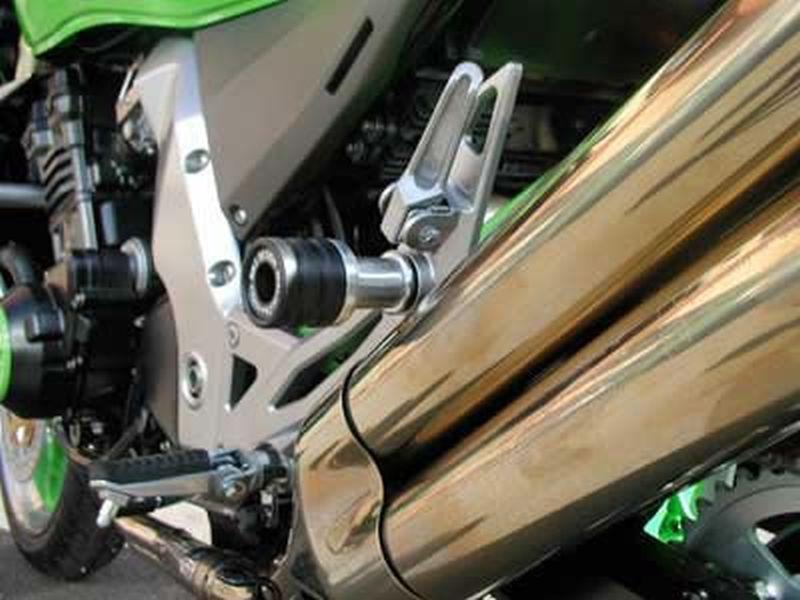 Motorrad Sturzpads für Kawasaki Z 1000 Set vorne und hinten Crashpads