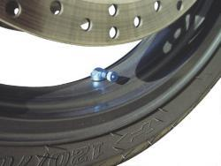2x Motorrad Aluminium Eck Winkelventile für Suzuki GSXR 1100 1000 DL Vstrom VX