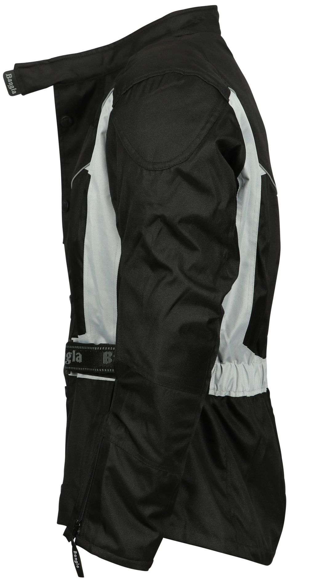 Bangla Motorradjacke Motorrad Jacke Textil Schwarz Grau Tourenjacke S - 7 XL