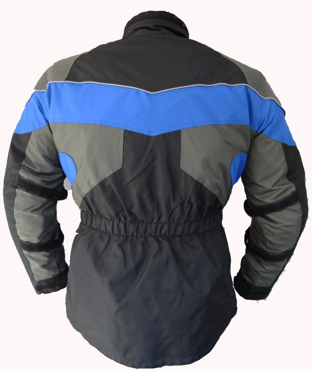 Kinder Motorradjacke Cordura Motorrad Jacke Blau 128 140 152 164