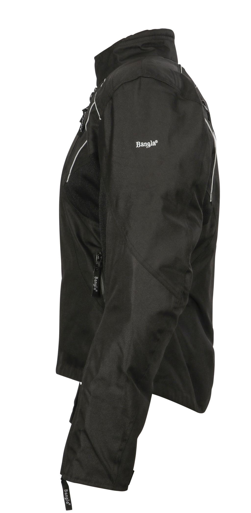 Sommer Motorradjacke Textil Jacke Cordura Quad Roller Schwarz Kurz M - 4 XL