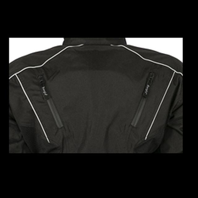 Bangla Motorradjacke Motorrad Jacke Herren Textil Cordura Schwarz Kurz M - 4 XL