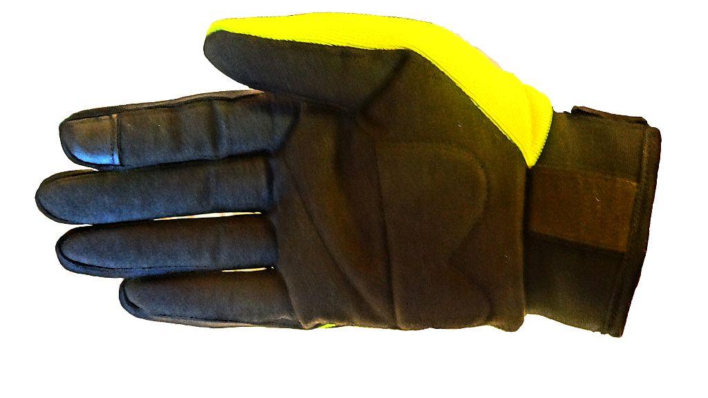 Bangla Motorradhandschuh Enduro Motorrad Handschuhe neon schwarz kurz S - XXL
