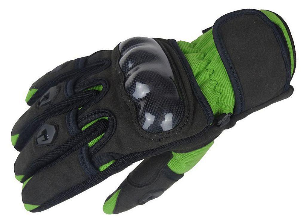 Bangla Motorradhandschuhe Sommer Motorrad Handschuh Grün Schwarz XS-XXXL