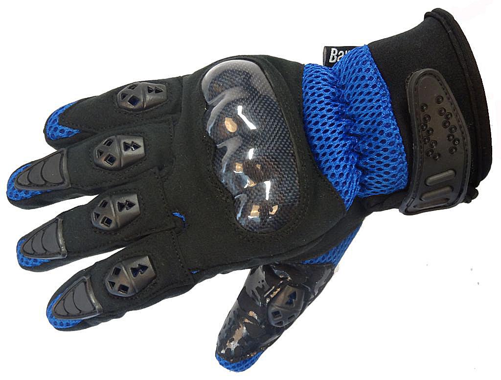 Bangla Motocrosshandschuh Enduro Motorrad Handschuhe schwarz blau S M L XL