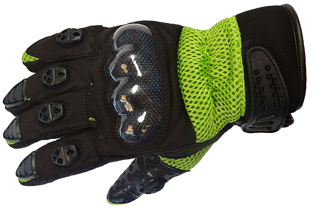 Bangla Motocrosshandschuh Enduro Motorrad Handschuhe schwarz grün S M L XL