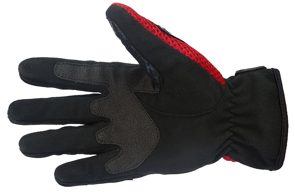 Bangla Motocrosshandschuh Enduro Motorrad Handschuhe schwarz rot S M L XL