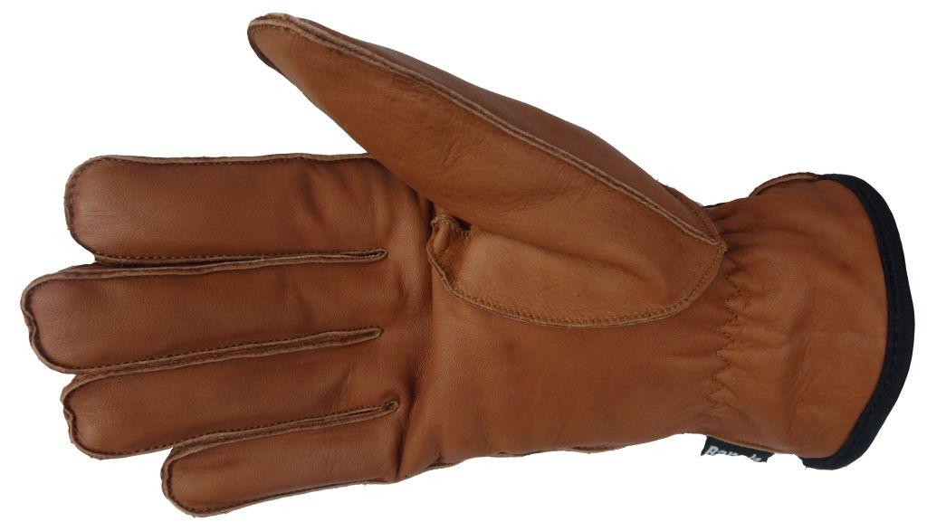 Winter Handschuhe Lederhandschuhe  BRAUN Herren Neu S M L XL XXL XXXL